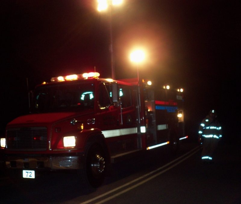 Former Rescue 72 Leaving Station (Video)